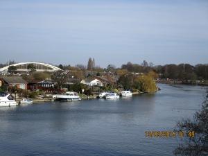 Footbridge to Desborough Island