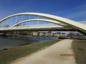 The new Walton Bridge