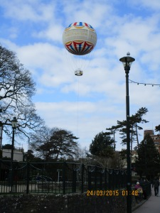 Balloon in Lower Gardens