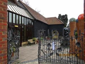 Riverhouse Barn Cafe area