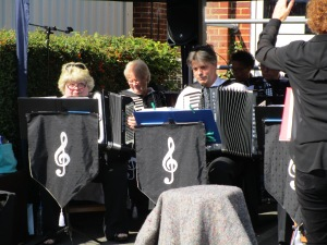 The Tillingbourne Accordian Band