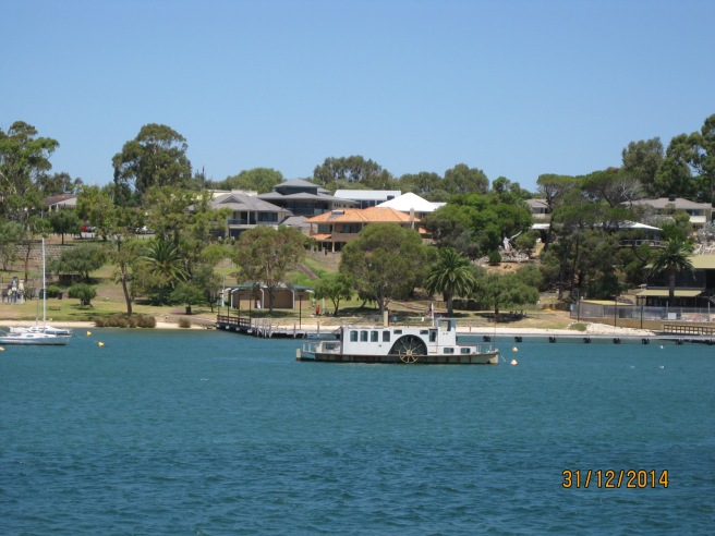 Paddle boat on the Swan River